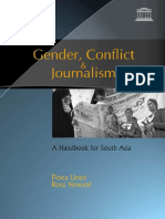 UNESCO - Gender, Conflict & Journalism - A Handbook for South Asia [2005].pdf