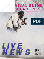 IFJ - Live News - A Survival Guide for Journalists [03-2003]