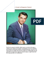 Cary Grant, la Elegancia Natural