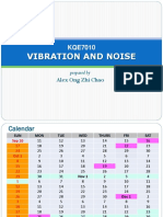 20170916 VIBRATION  NOISE Course Information 2017.pdf