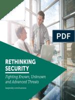 Rethinking Security Advanced Threats eBook