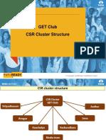 CSR Cluster Struture