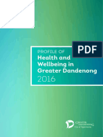 Healh and Wellbeing Profile