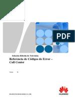 Solución Híbrida de Televisión - Referencia de Códigos de Error - Call Center - V1