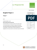 Secondary Progression Test - Stage 7 English Paper 2.pdf