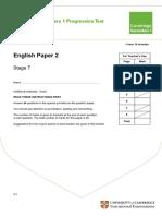 Secondary Progression Test - Stage 7 English Paper 2.pdf