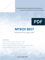 MTECH2017 INTERNATIONAL CONFERENCE ON MATERIALS