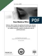 Informe - El Caso Manta y Vilca - Jul 2009