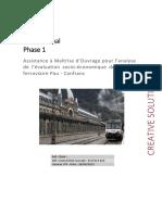 Etude Pau-Canfranc Rapport de Phase 1