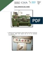 Manual Operativo Del Torno