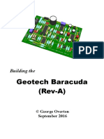 Building the Geotech Baracuda (Rev-A)