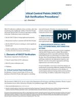 6 Establish Verification Procedures