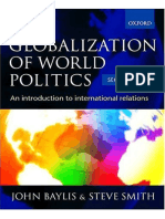 Baylys Amp Smith the Globalization of World Politics Introduction to International Relations Theory