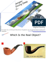 (2010) Digital Reality – Escape to a Virtual World or Explore an Augmented Culture