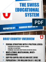 COMPARATIVE the Swiss Education System