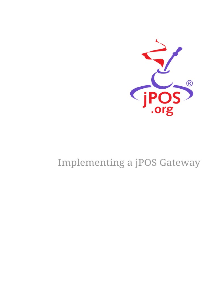 Implementing a jPOS Gateway
