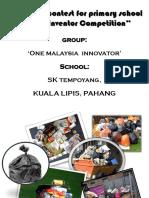 Student's Presentation Print