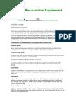 Aliens Predator CCG - Rules - Official Resurrection Supplement