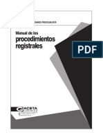 Manual de Los Procedimientos Registrales