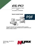 ESPCI Quick Install Guide
