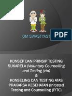 Konsep Dan Prinsip Testing Sukarela (Vct)
