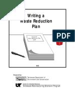 Waste Reduction Plan