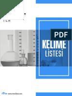YÖKDİL Fen Bilimleri Kelime Listesi.pdf