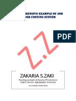 G4; ZAKARIA_job Order Costing System