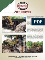 Flyer Pile Driver