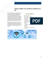 White Paper the Impact of 802 11ac Wireless Networks on Network Technicians-121419-6001652