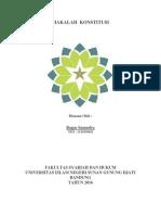 Cover Makalah konstitusi