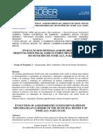 Sistemas Agroflorestais Desenvolvidos Pelos Agricultores Nipo-brasileiros