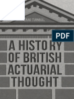 Craig Turnbull (Auth.)-A History of British Actuarial Thought-Palgrave Macmillan (2017)