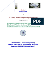 Chemical Engineering Iit Roorkee Copy