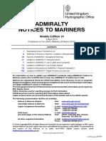 Notices to Mariners UK 14wknm15_week14_2015