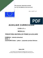 Pregatirea materiilor prime si auxiliare.doc