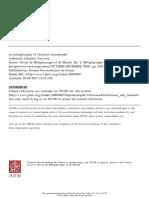 Tiercelin La métaphysique et l'analyse conceptuelle
