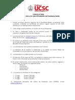 Bases VI Concurso Interescolar de La Voz