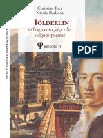 Holderlin - Juízo e Ser