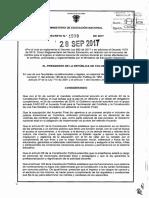 Decreto 1578 Del 28 de Septiembre de 2017