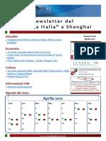 Sistema Italia a Shanghai Newsletter - Consolato Shanghai