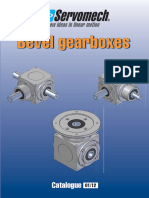 SERVOMECH Bevel Gearboxes Catalogue 01 12
