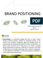 PBM Brand Positioning