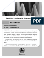 Prova 5º 1º Bimestre EF.I Matematica