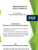 Colon Prep in Gynecology Surgical - Dr. Excellena