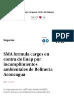 3.- SMA Formula Cargos en Contra de Enap Por Incumplimientos Ambientales de Refinería Aconcagua (1)
