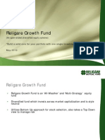 Religare Growth Fund Presentation