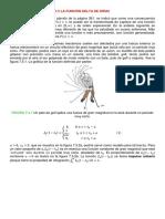 Secc. 7.5, La Funcion Delta de Dirac
