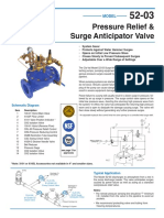 Surge Anticipation Valve