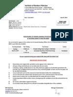 Nbp - Admit Card (Gbo)